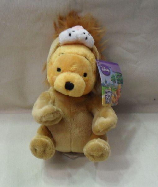 Copripiumino Singolo Winnie The Pooh.Peluche Disney Winnie The Pooh Vestito Da Leone Originale Cm 18