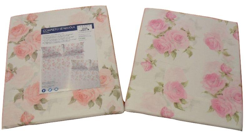 GBH-00959 - lenzuola 2 posti basssetti, copleto letto zucchi ...