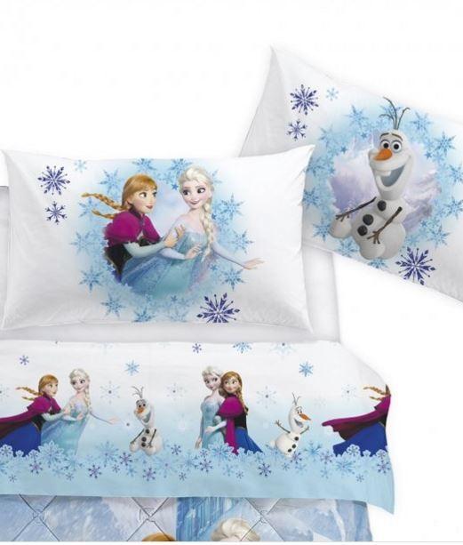 Parure Lenzuola Singole.Lenzuola Frozen Parure Singola Caleffi Disney Frozen Elegance Prezzo Offerta