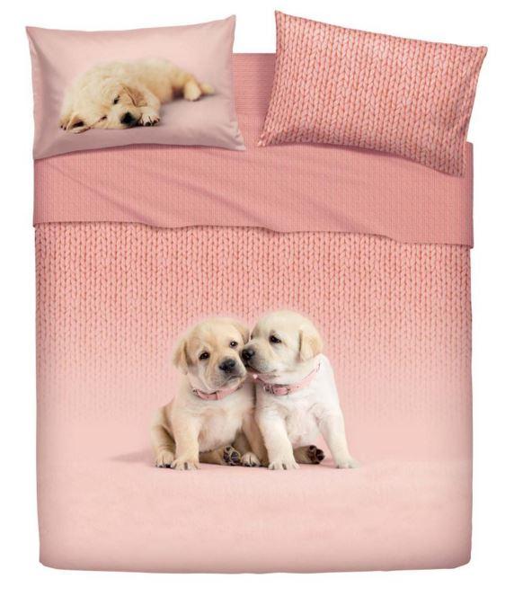 Lenzuola Una Piazza E Mezza Bassetti.Lenzuola Copriletto Bassetti Home Innovation Soft Dogs Matrimoniale New