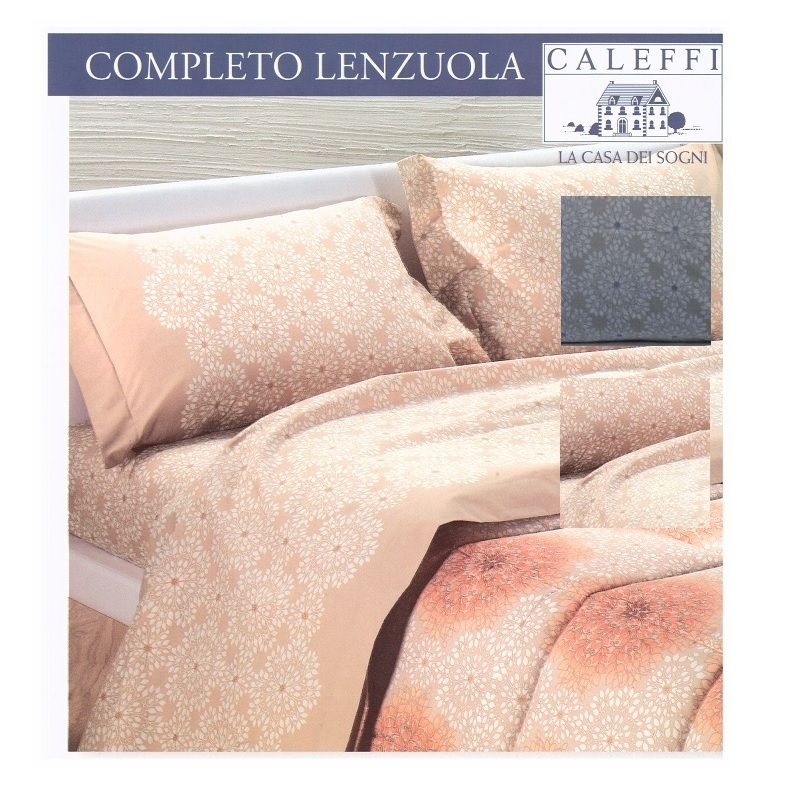 GBH-42017 - lenzuola 2 posti basssetti, copleto letto zucchi ...