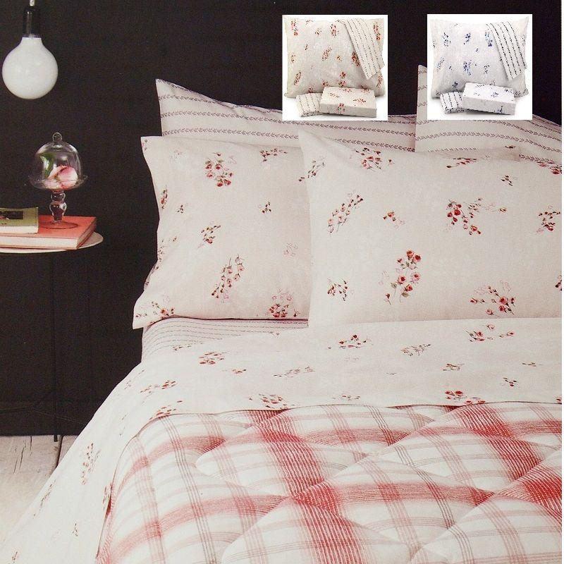 GBH-42087 - lenzuola 2 posti basssetti, copleto letto zucchi ...