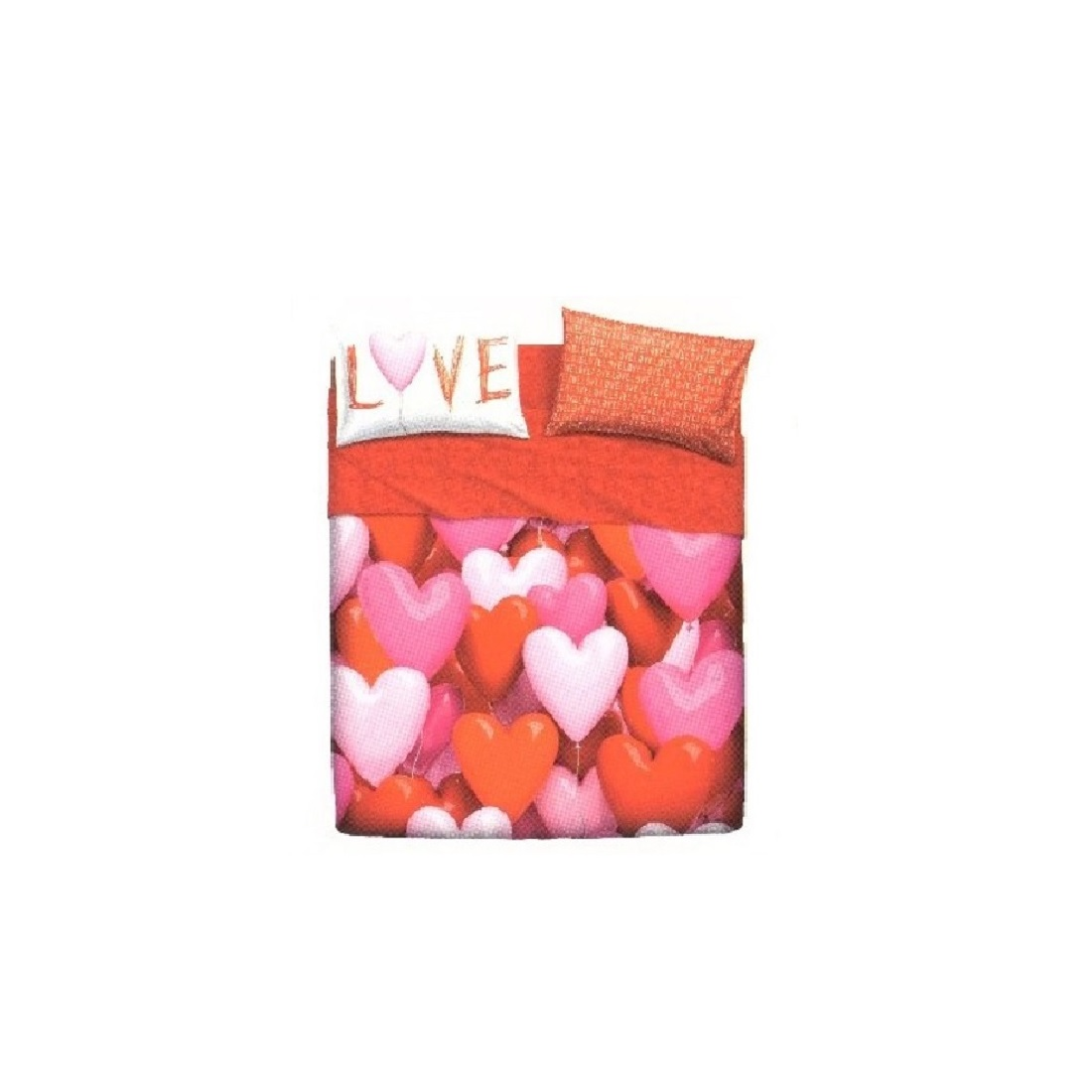 Copriletto Matrimoniale Bassetti Love.Gbh 47182 Lenzuola 2 Posti Basssetti Copleto Letto Zucchi