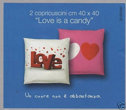 Cuscini Bassetti.Copricuscini Cuscini Arredo Bassetti Love Candy Rosa Prezzo