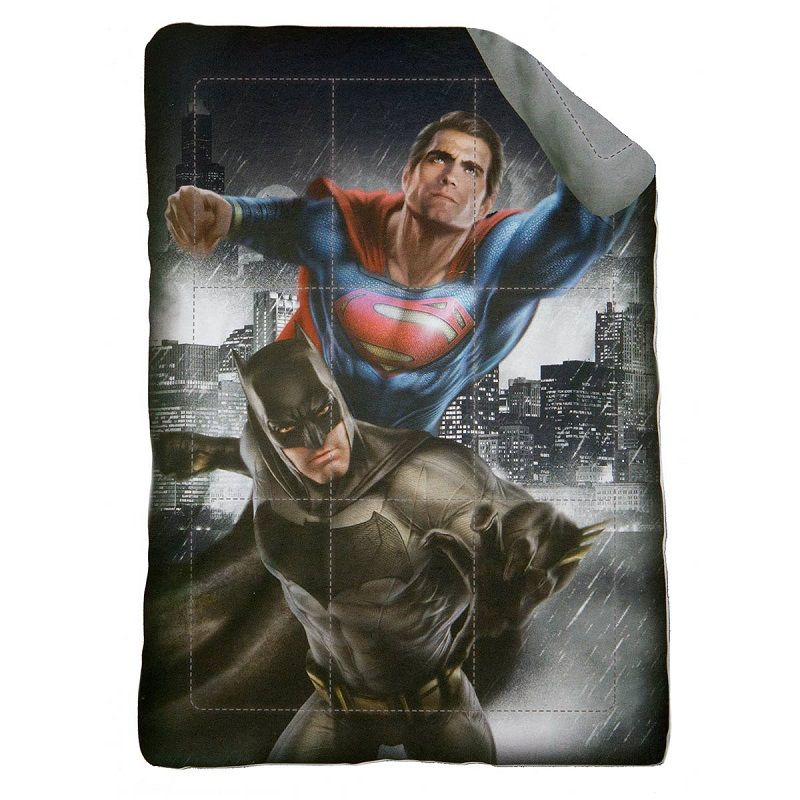 Trapunta superman vs Batman Singola Piumone Batman Microfibra