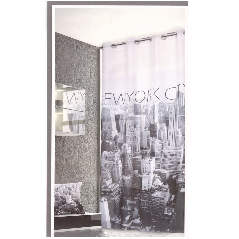Tenda New York Pannello Tenda 1 Panello Con Borchie Cm 140 x 280 Offerta
