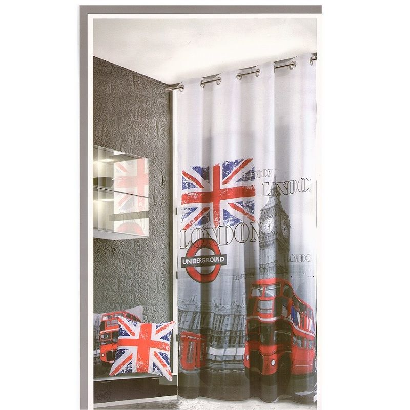 Tenda London Londra Pannello Tenda 1 Panello Con Borchie Cm 140 x 280 Offerta