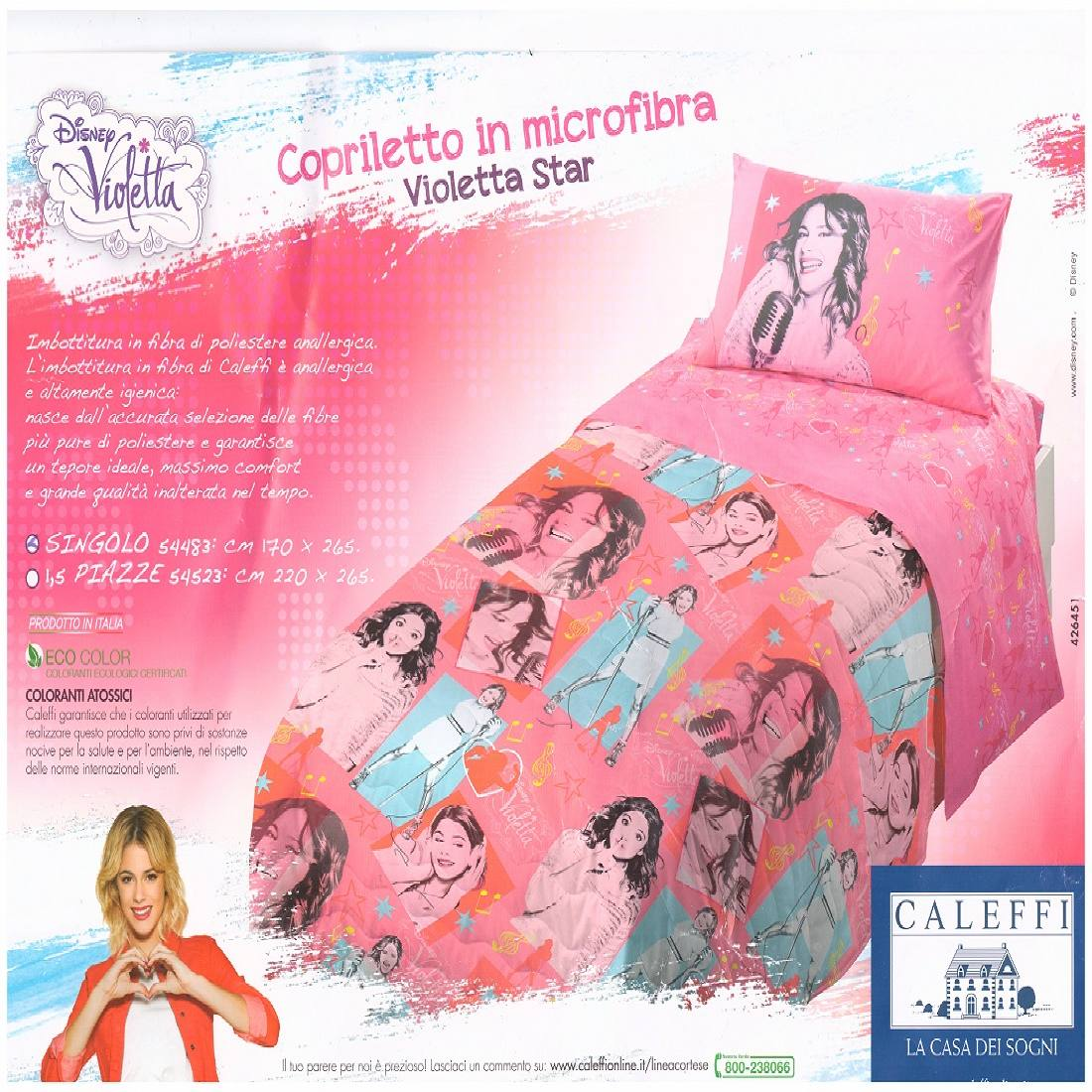 Trapunta Singola Di Violetta.Trapuntino Titty Love Caleffi Looney Tunes Tweety Love Misura