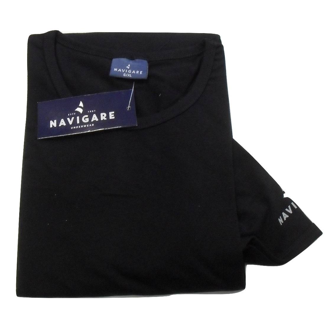 998c57438d40aa ... 3 Pezzi T-Shirt Uomo Navigare Articolo 570 Girocollo Cotone Bielastico  ...