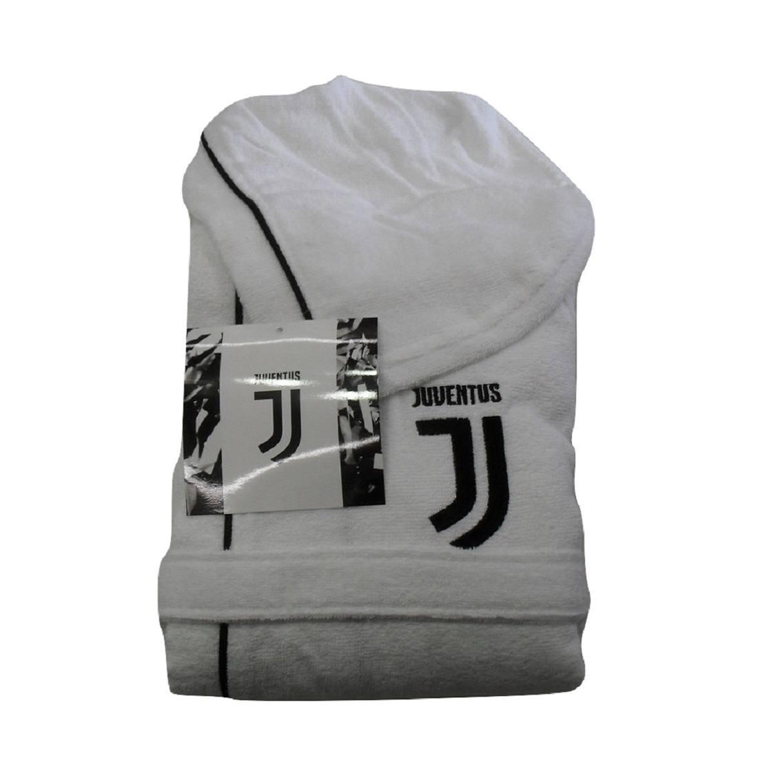 Accappatoio Juve Juventus Per Bambino Ragazzo In Microspugna Prodotto Ufficiale