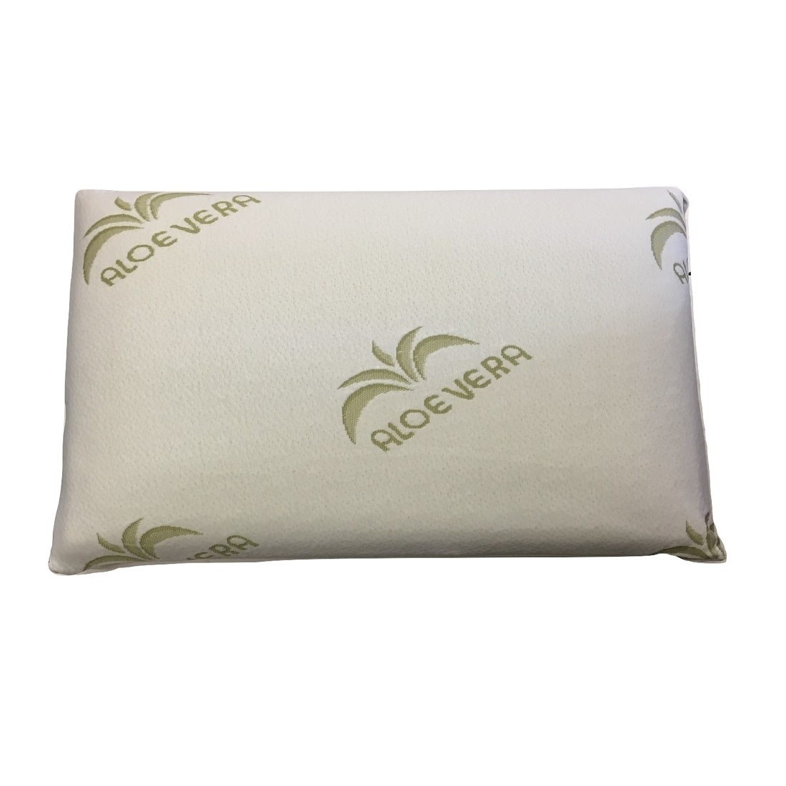 Guanciale Memory Foam Altezza Cm 13 Con Fodera Aloe Vera Made In Italy