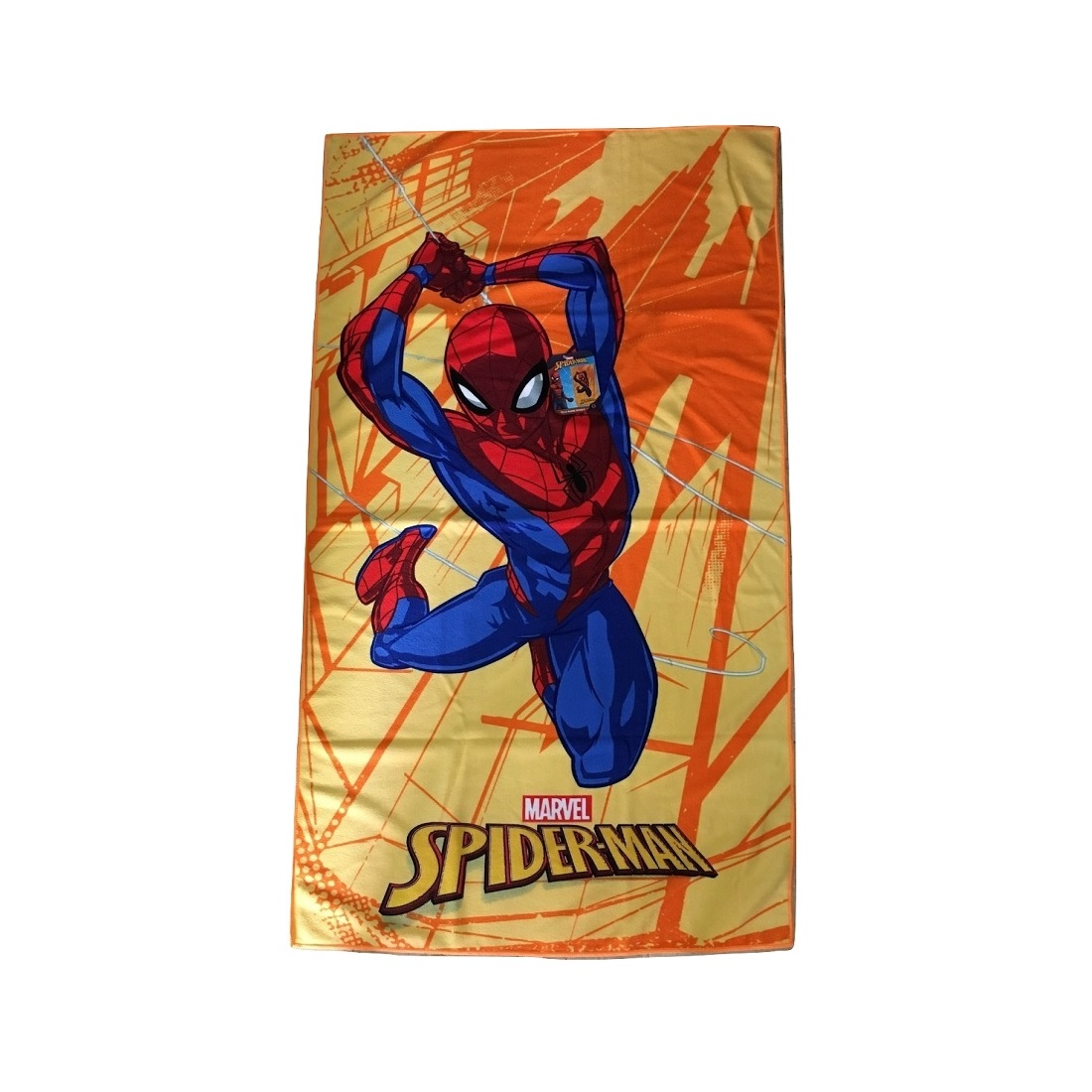 Telo Mare Disney Spiderman Microfibra Cm 70 x 140 Spiderman Articolo 36265