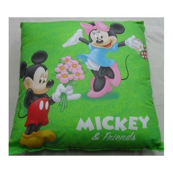 Cuscino Disney Caleffi Double Face Topolino e Minnie Prato