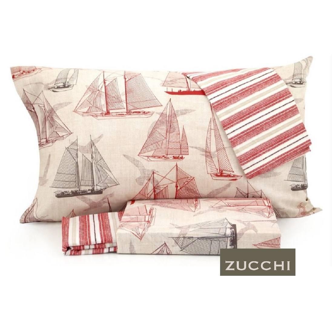 Lenzuola zucchi piazza e mezza sailboat 2 federe prezzo for Lenzuola zucchi