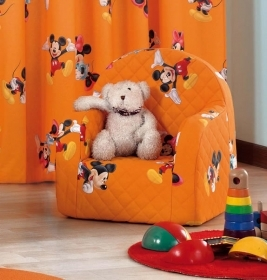 Poltroncina Disney Minnie Topolino Colore Arancio