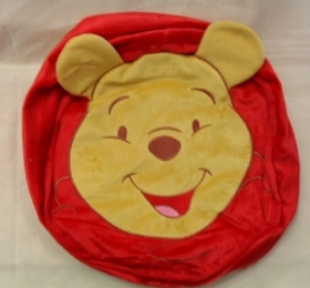 Pouf Disney Winnie The Pooh Gonfiabile e Sfoderabile Diametro e Altezza Cm 28
