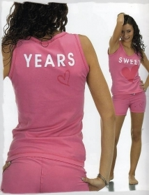 Pigiama Donna Sweet Years Cort