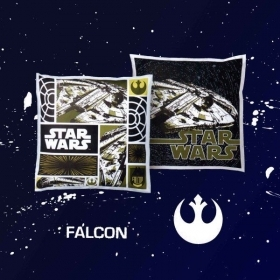 Cuscino Star Wars Arredo By Bassetti Modello Falcon Vader Rebel