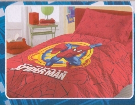 Copriletto Spiderman Marvel Letto Singolo In Piquet Avengers By Novia Offerta