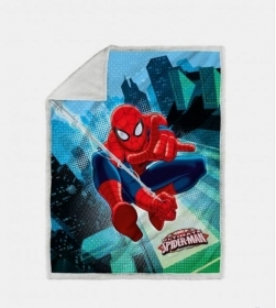Plaid Spiderman Copertina Cm 130 x 160 Stanpa Digitale Spiderman Graphic