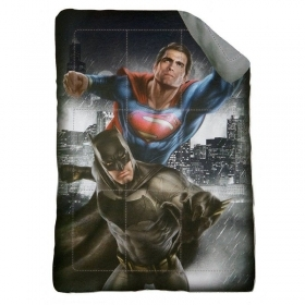 Trapunta superman vs Batman Si