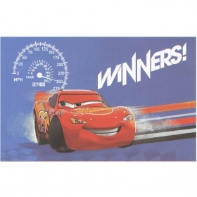 Tappeto Disney Cars Cm 80 x 140 Antiscivolo New Cars Winners