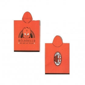 Accappatoio Poncho Ac Milan Pe