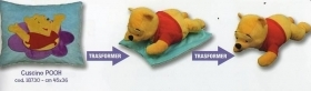 Cuscino Winnie The Pooh Disney Caleffi Modello Transformers 2 in 1