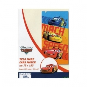 Telo Mare Cars Disney Caleffi Cars Match New Prezzo Offerta
