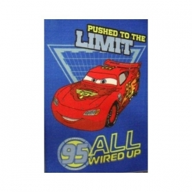 Tappeto Disney Cars Limit Blu