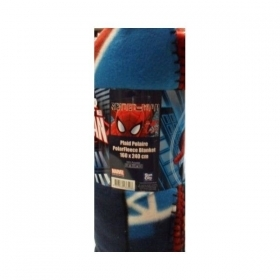 Plaid Coperta Spiderman Marvel Pile Cm 160 x 240 Offerta