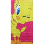 Telo Mare Looney Tunes Bassetti Smart Tweety New Microfibra Sotto Costo